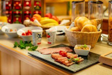 Frühstücksbuffet im Gästehaus Herrmann in Filzmoos, Salzburg