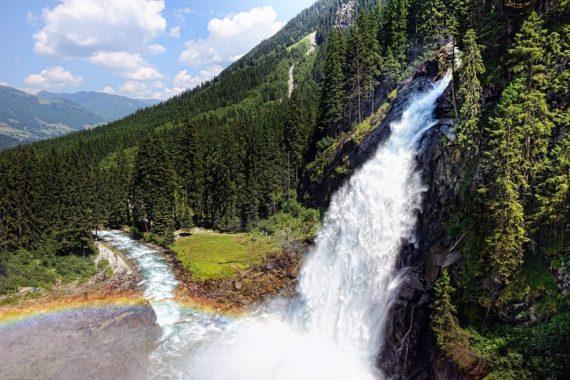Krimmler Wasserfälle - Ausflugsziel im Salzburger Land