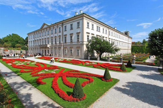 Schloss Mirabell - Ausflugsziel in Salzburg, Österreich