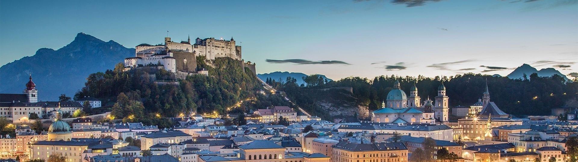 Ausflugsziel Stadt Salzburg, Österreich