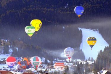 Ballonfahren & Ballonwochen im Winterurlaub in Filzmoos, Ski amadé