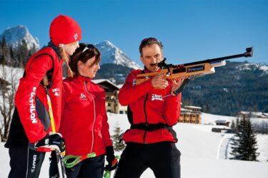 Biathlon im Winterurlaub in Filzmoos, Ski amadé