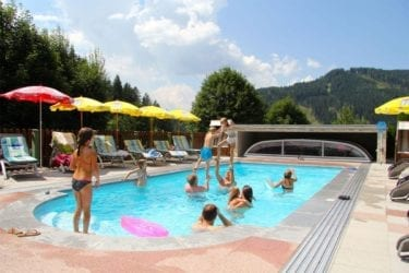 Garten & Pool in Filzmoos, Gästehaus Herrmann