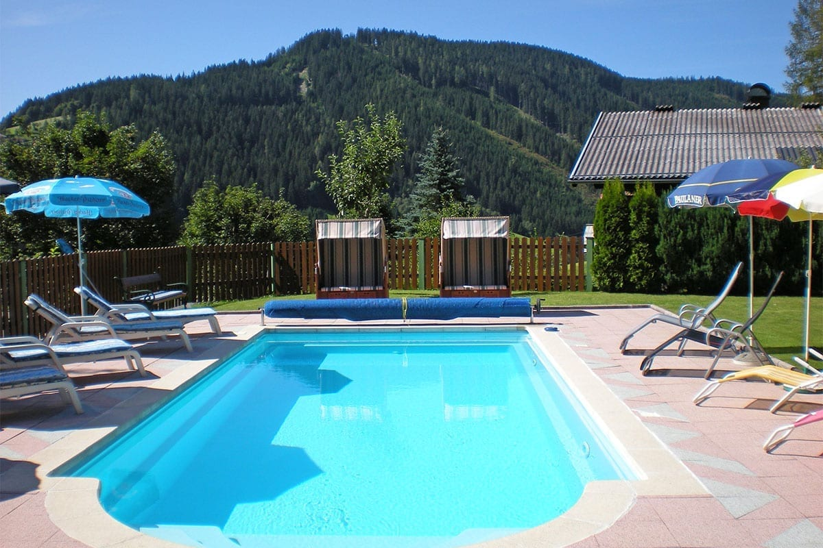 Guesthouse With Heated Outdoor Pool Summer Holiday In Filzmoos
