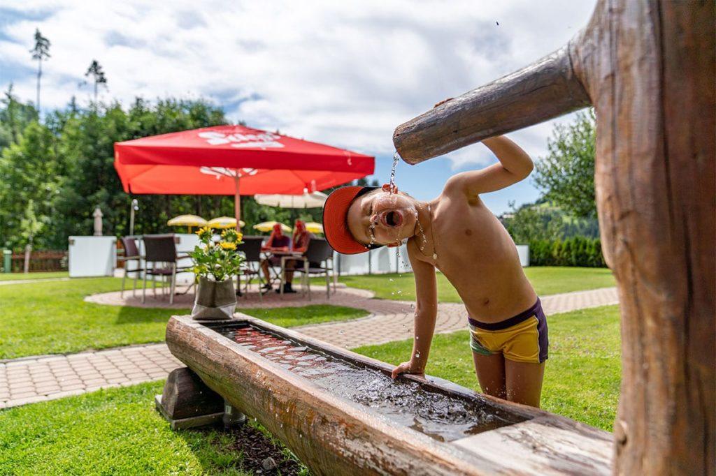 Garten - Sommerurlaub im Gästehaus Herrmann, Filzmoos