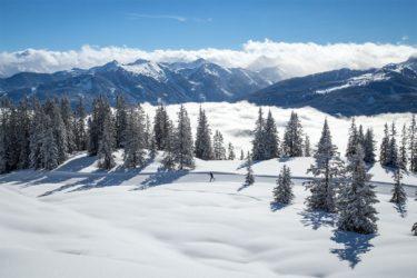 Langlaufen im Winterurlaub in Filzmoos, Ski amadé