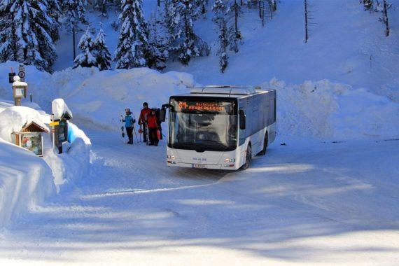 Filzmooser Skibus, Skiurlaub in Filzmoos