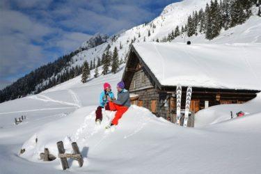 Skitouren im Winterurlaub im Salzburger Land