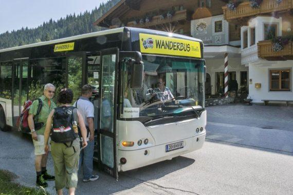 Wanderbus - Sommerurlaub in Filzmoos